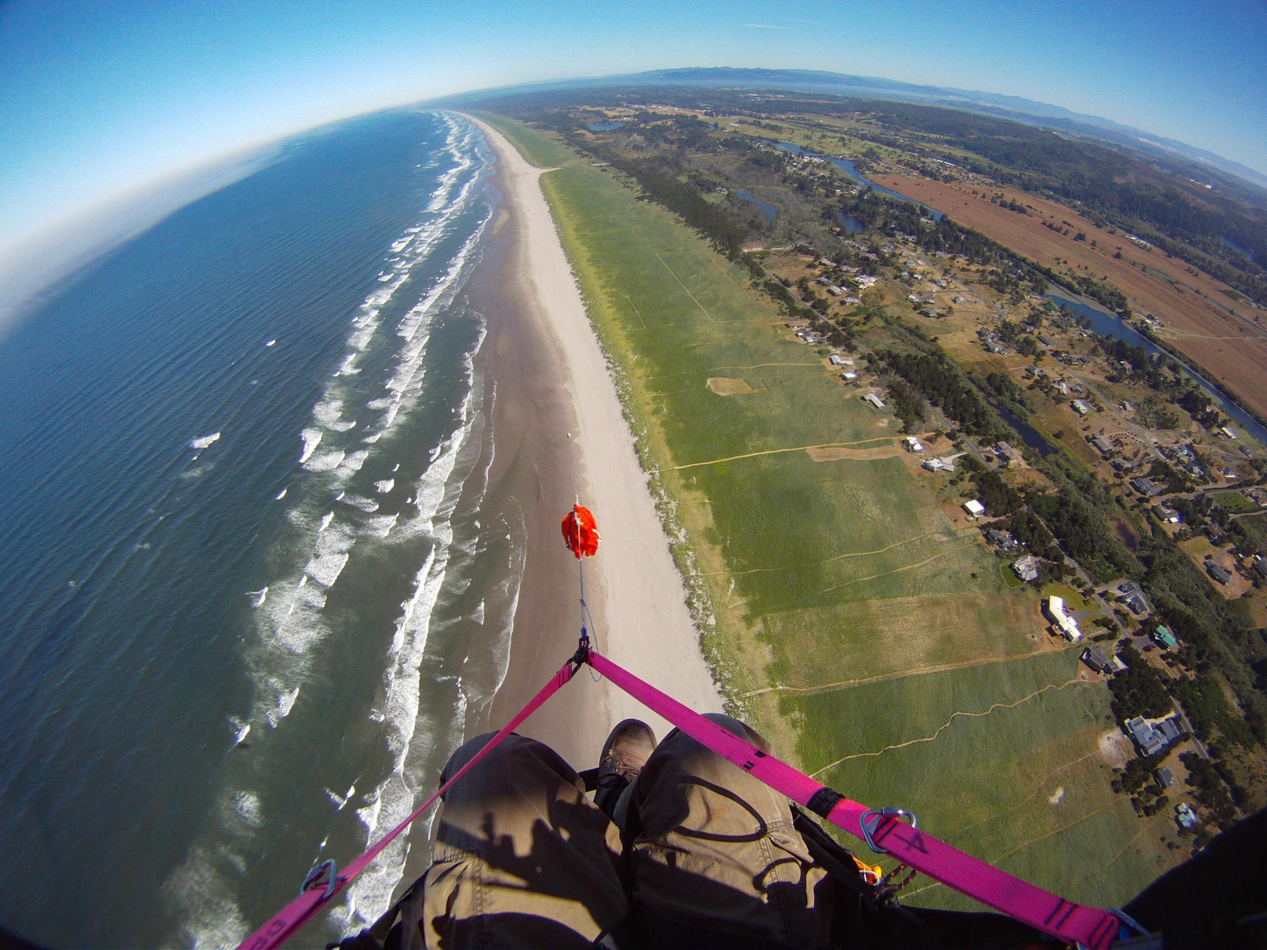 Sunset Beach Flight